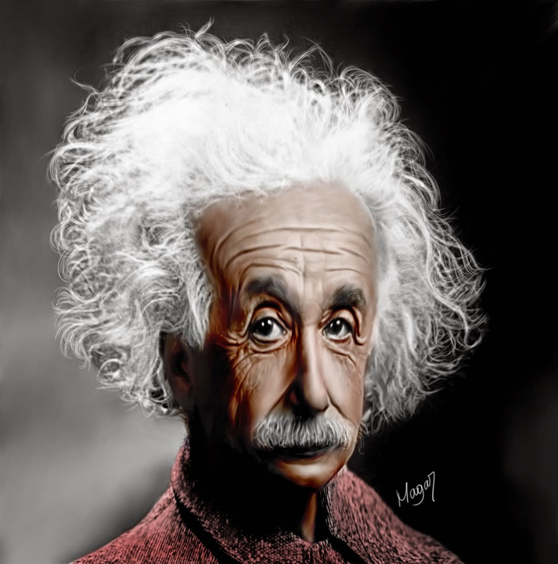Albert Einstein por MAGAR