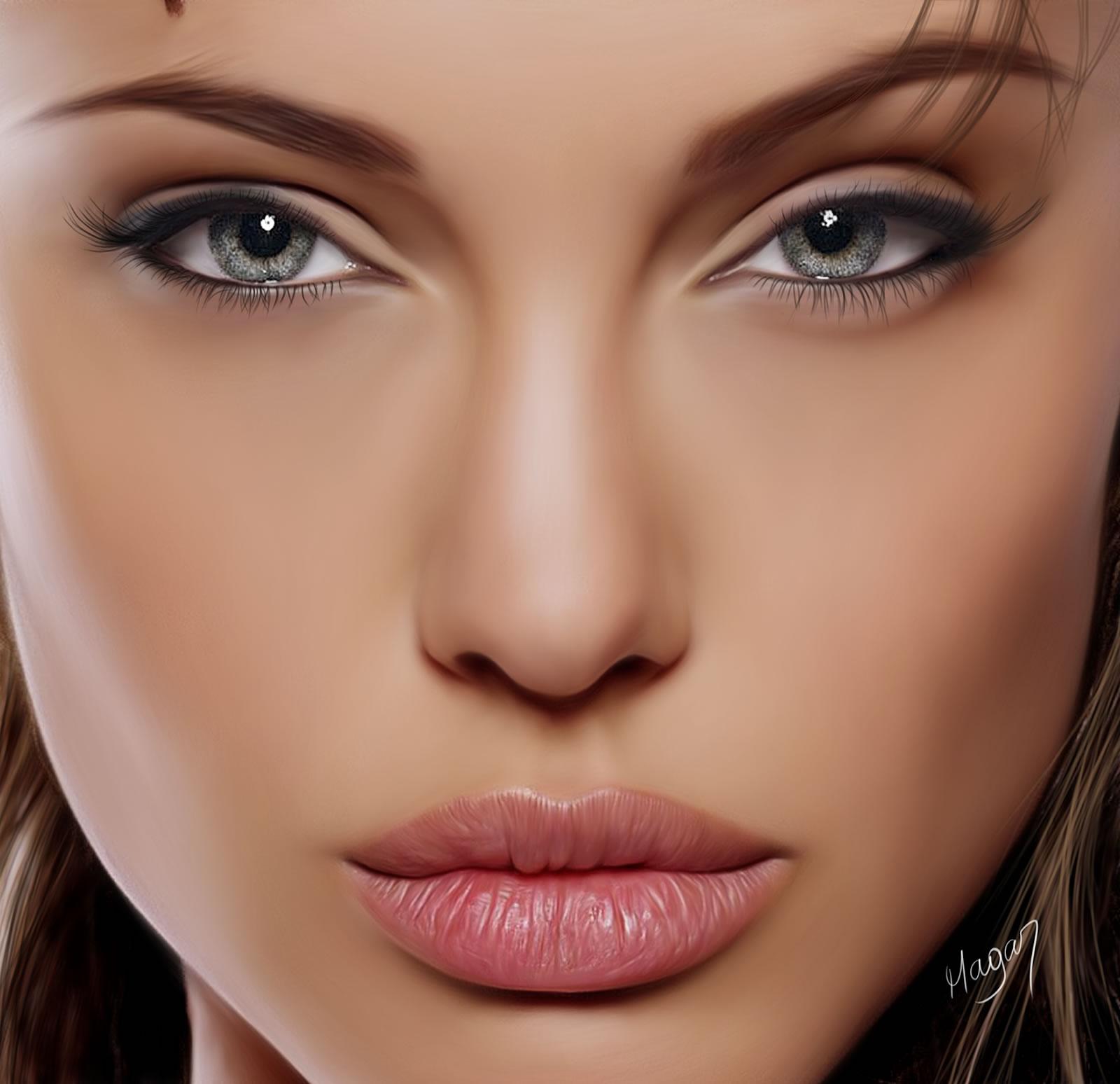 Angelina Jolie por MAGAR