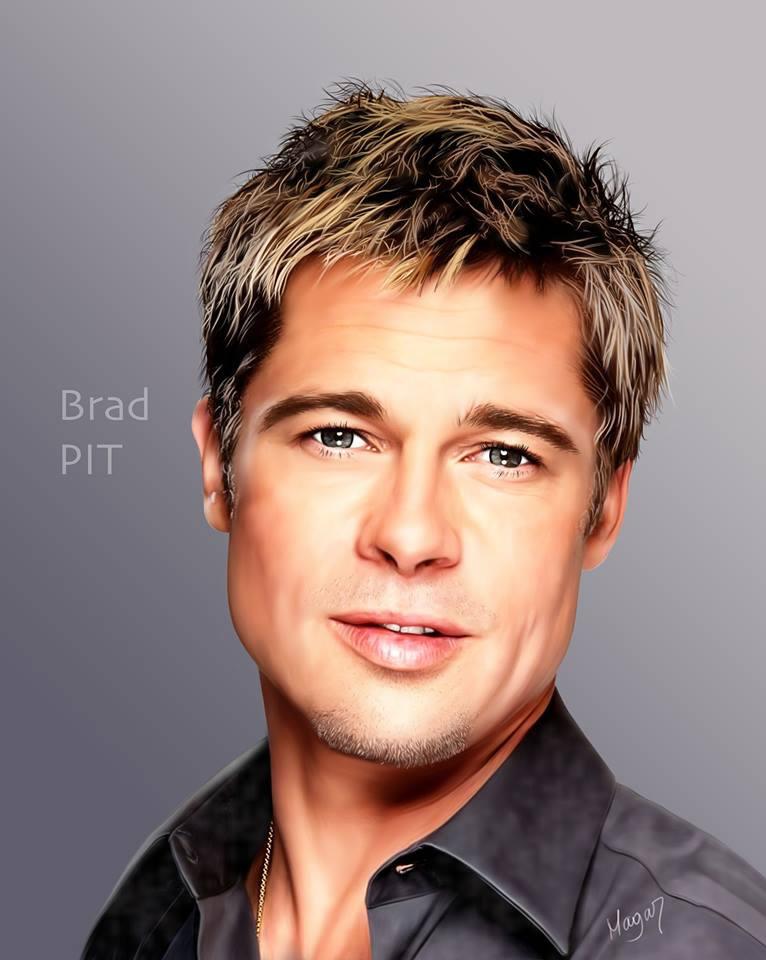 Brad Pitt por MAGAR
