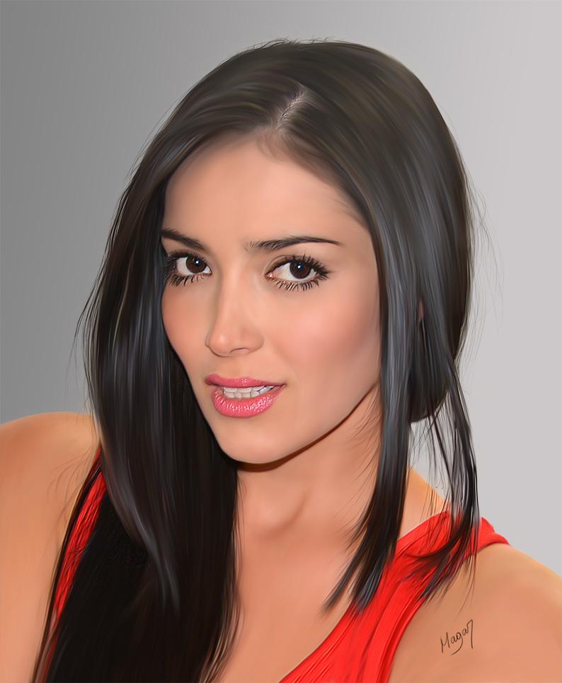 María Alejandra Monsalve por MAGAR