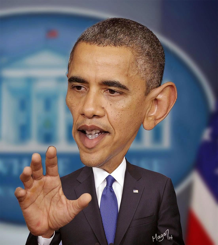 Barack Obama por MAGAR