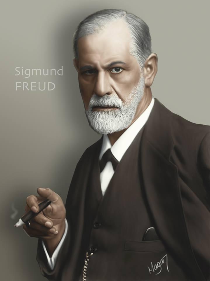 Sigmund Freud por MAGAR
