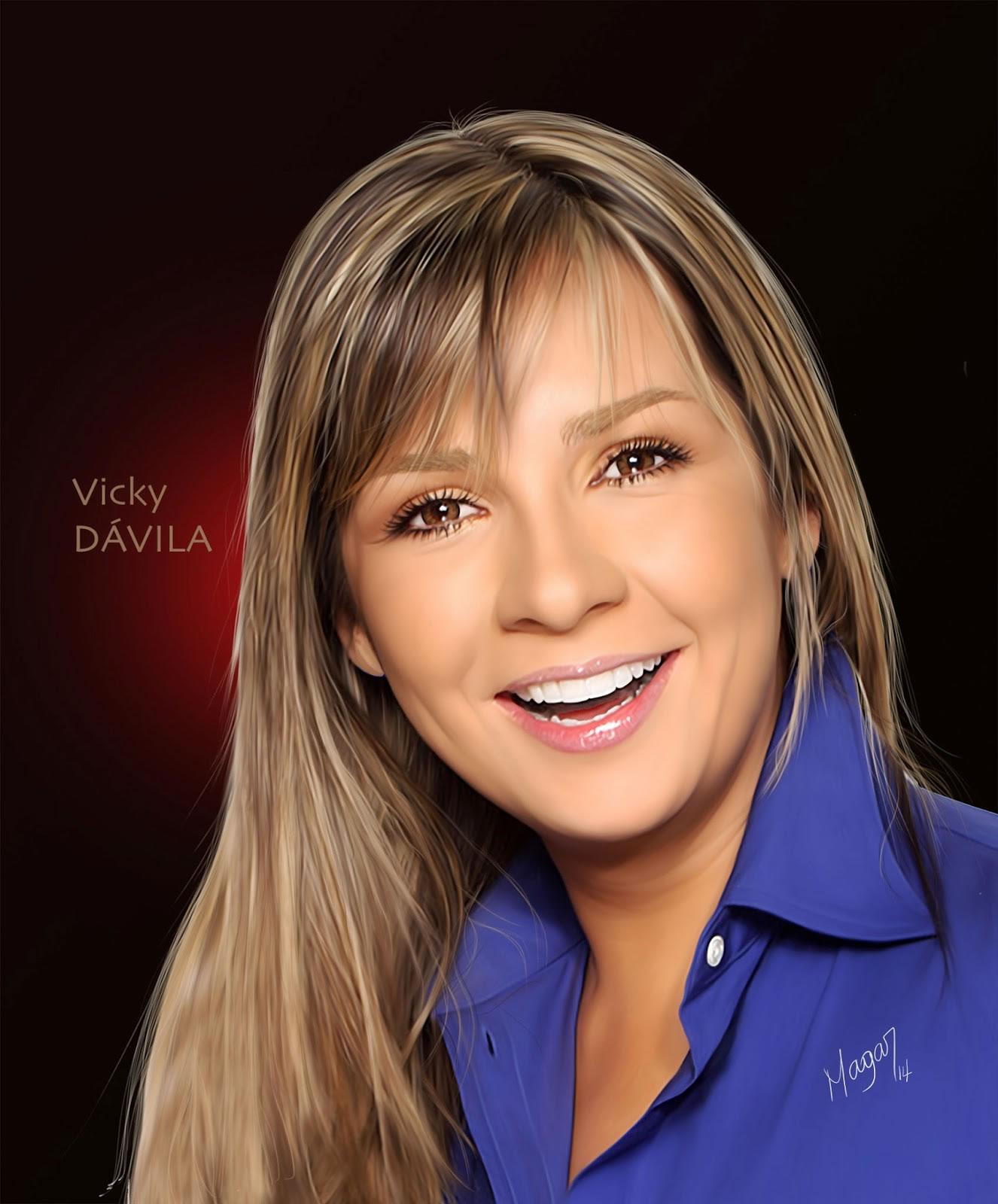 Vicky Dávila por MAGAR