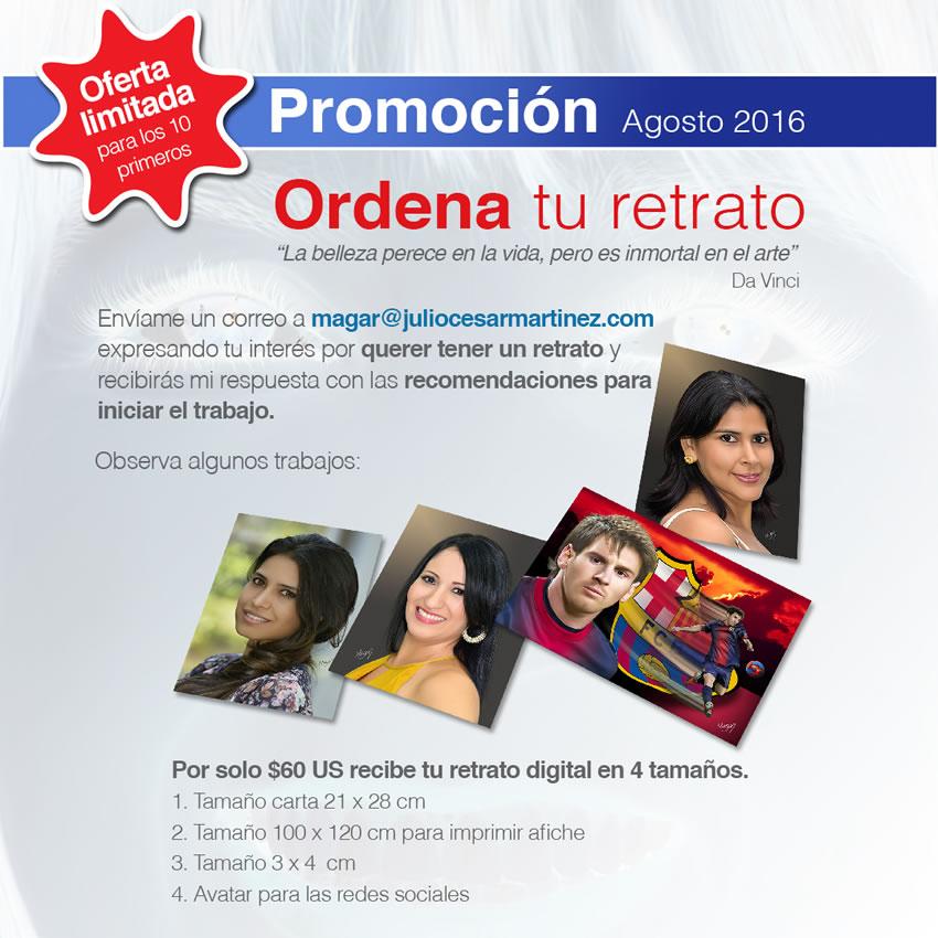 Promoción de Agosto 2016