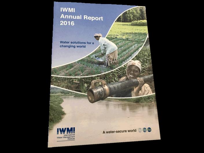 Informe Anual IWMI 2016